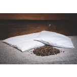 Buckwheat shell pillow 50x60 cm